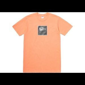 Supreme Chair Tee Peach SS18